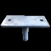 LevelMaster Straight Adjustable House Stump Top Australia