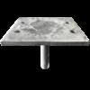 Straight Large 4 Hole Adjustable House Stump Top LevelMaster