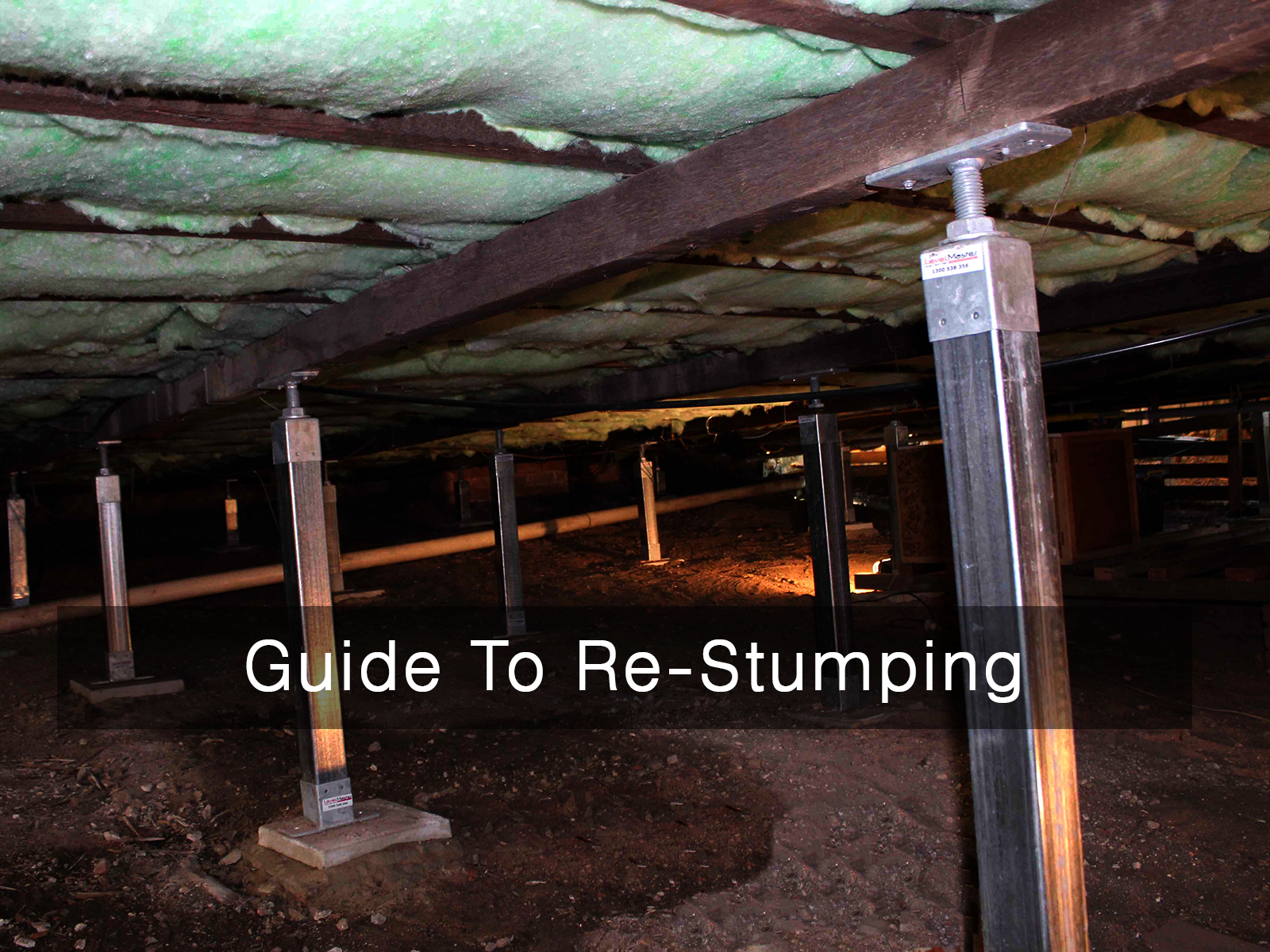 Restumping guide