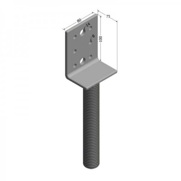 Vertical Small Adjustable House Stump Top LevelMaster Australia