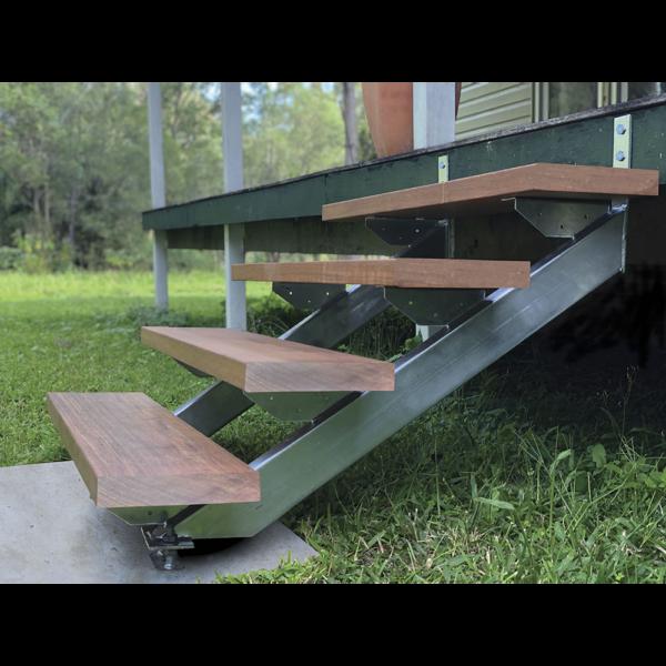 Adjustable Stair Stringer Installed LevelMaster Australia